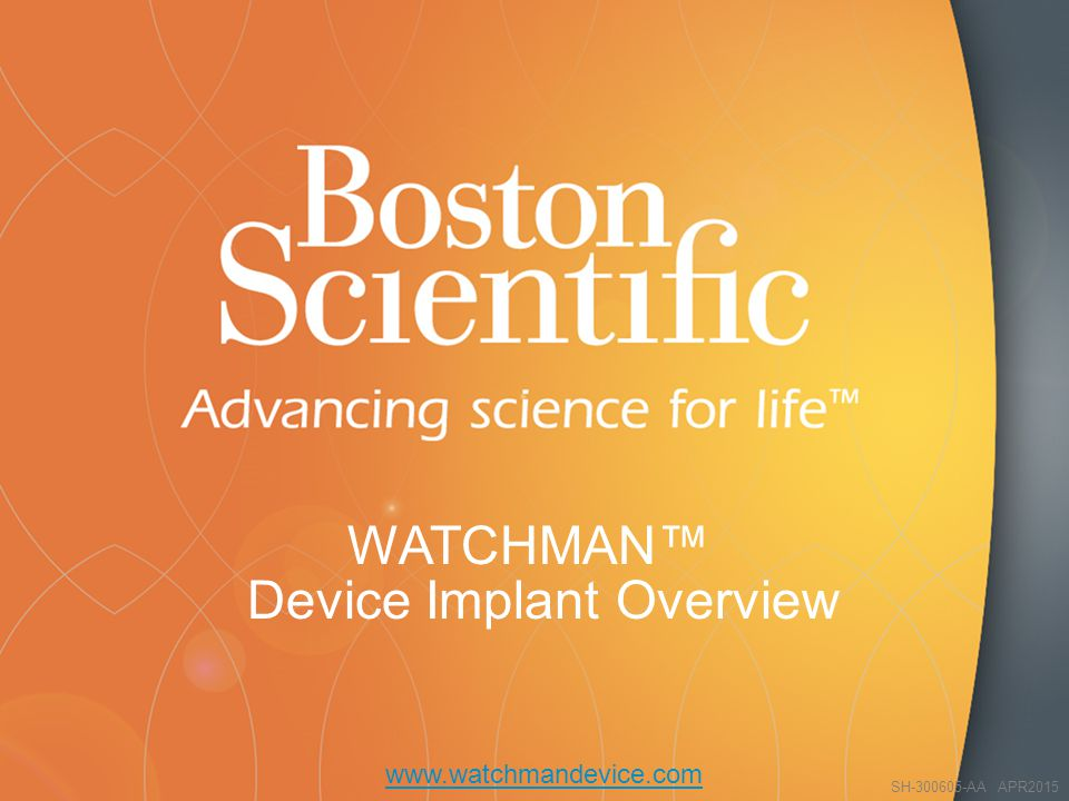 WATCHMAN™ Device Implant Overview