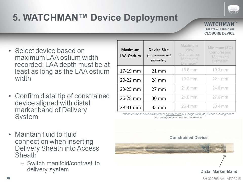 5. WATCHMAN™ Device Deployment