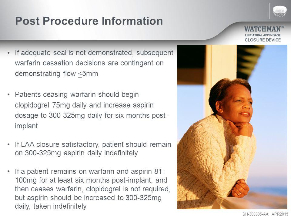 Post Procedure Information