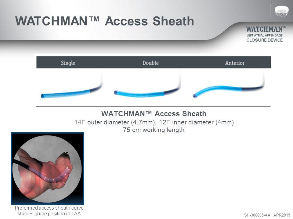 WATCHMAN™ Access Sheath