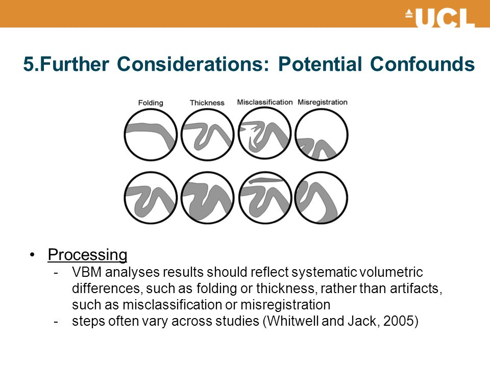 5.Further Considerations: Potential Confounds