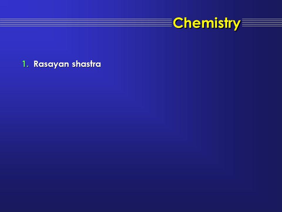 Chemistry Rasayan shastra