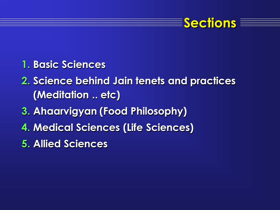 Sections Basic Sciences