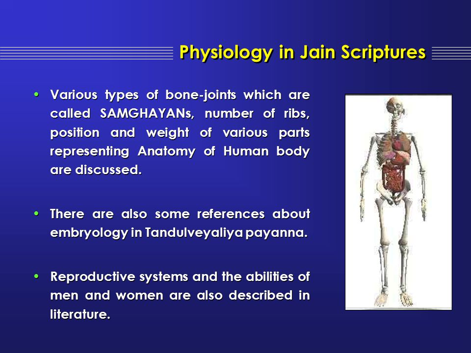 Physiology in Jain Scriptures