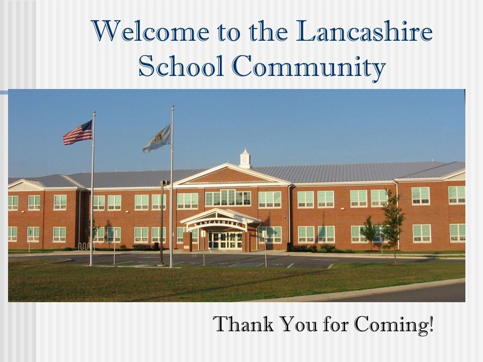 Welcome to the Lancashire School Community