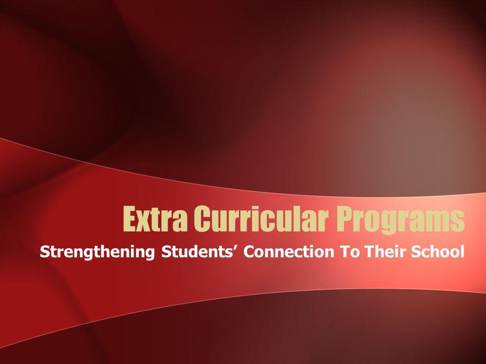 Extra Curricular Programs