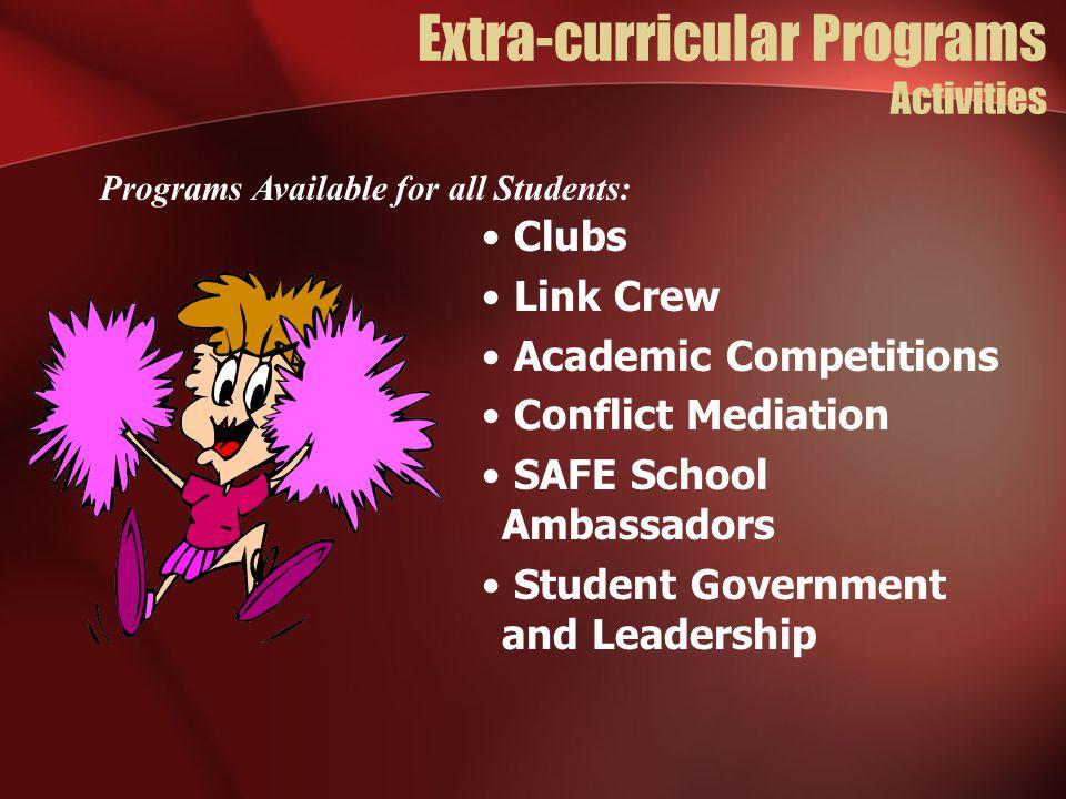 Extra-curricular Programs Activities