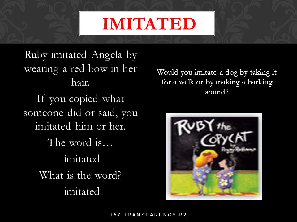 imitated
