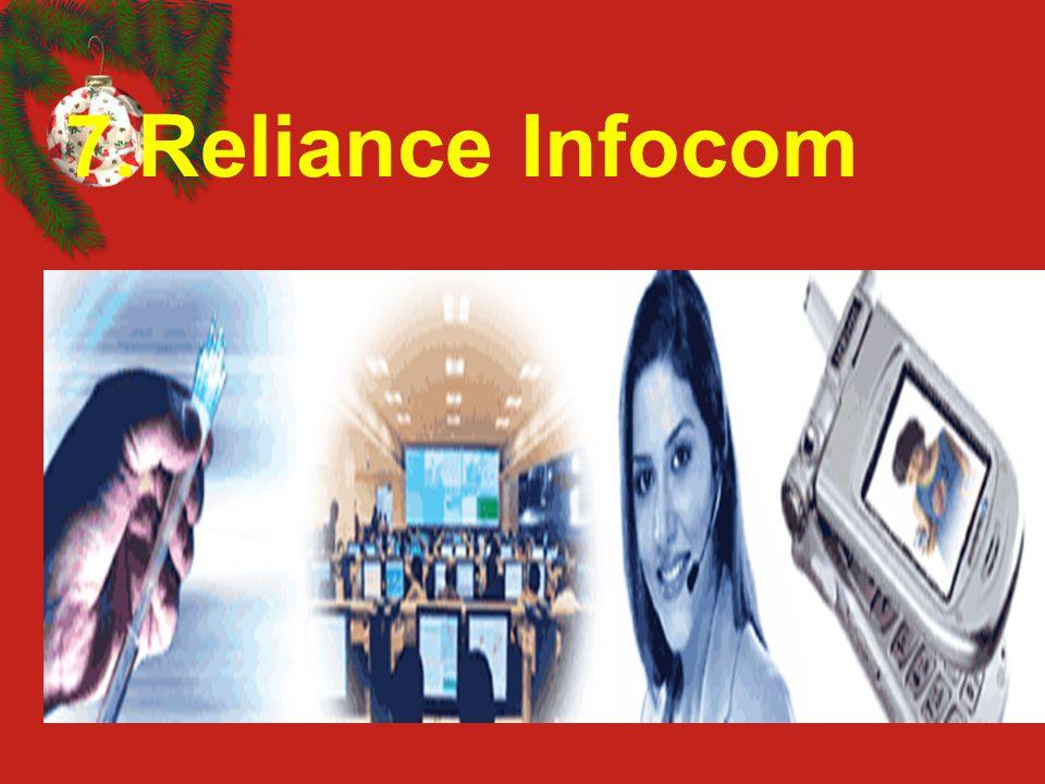 7.Reliance Infocom