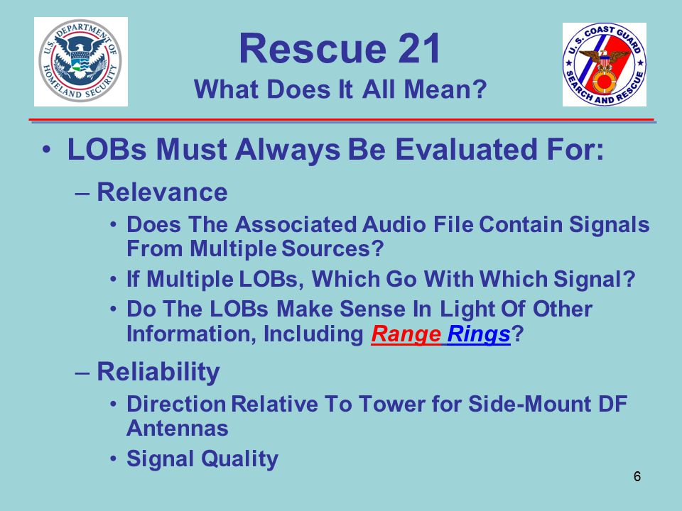 Rescue 21 What Does It All Mean