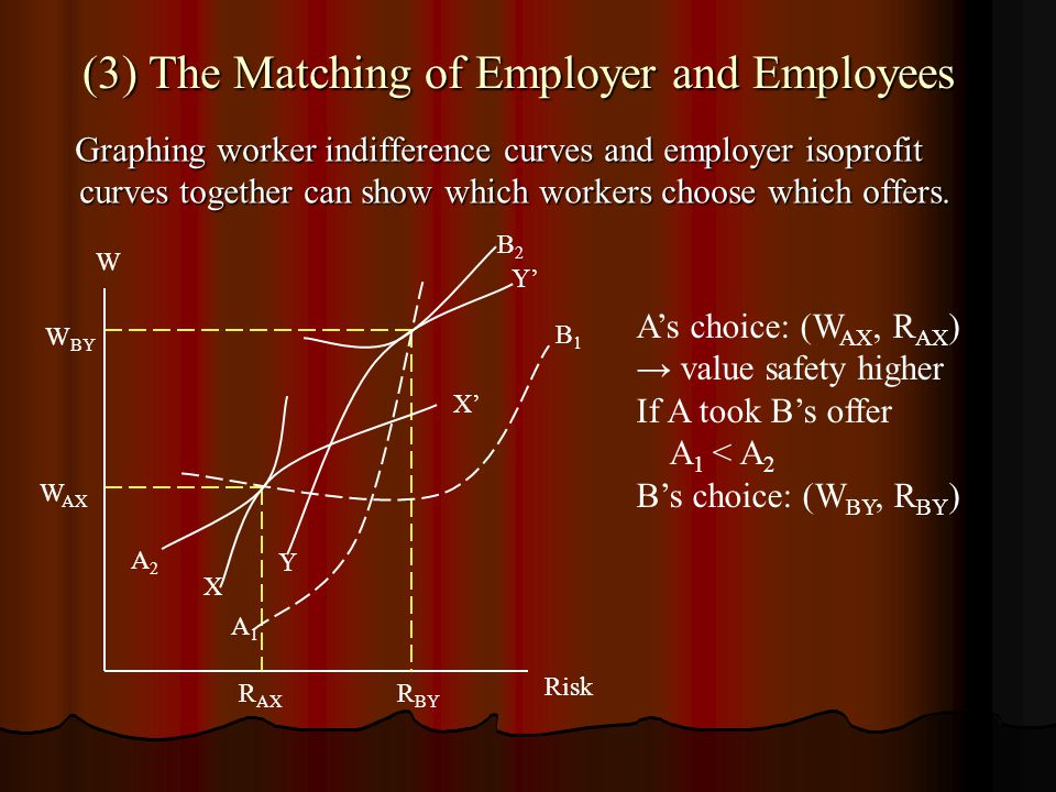 (3) The Matching of Employer and Employees