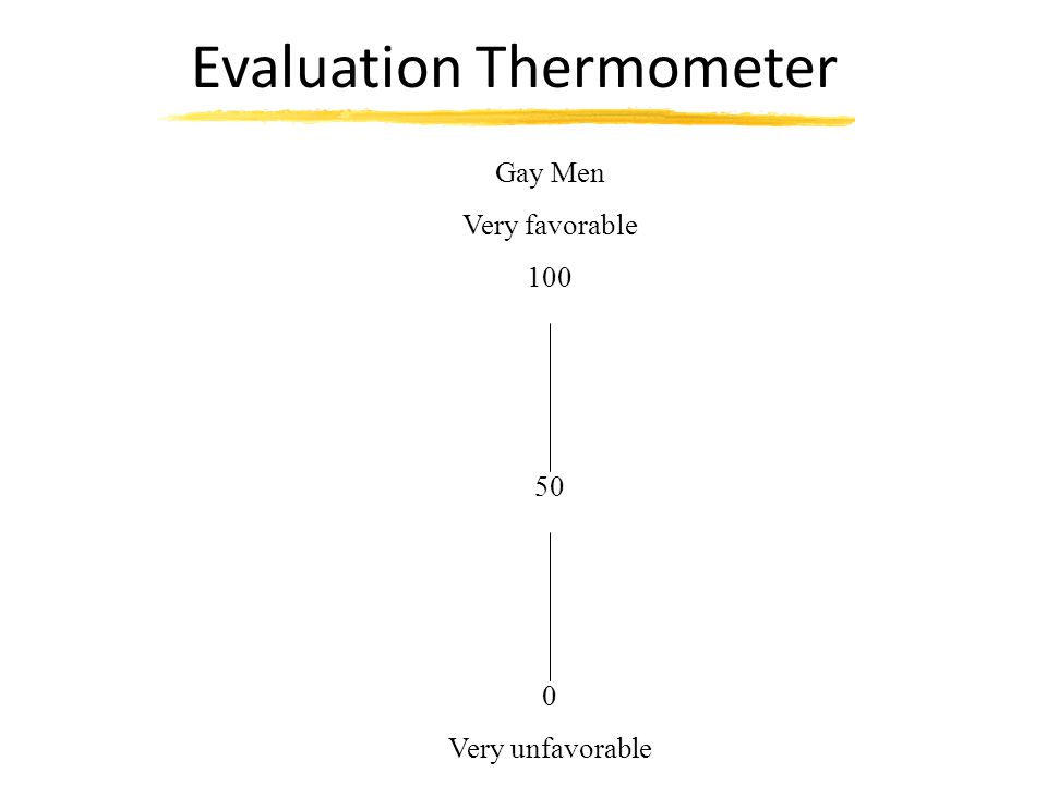 Evaluation Thermometer