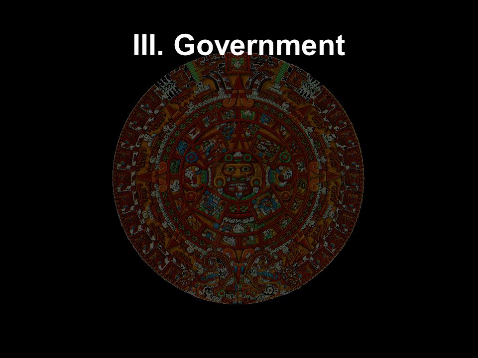 III. Government