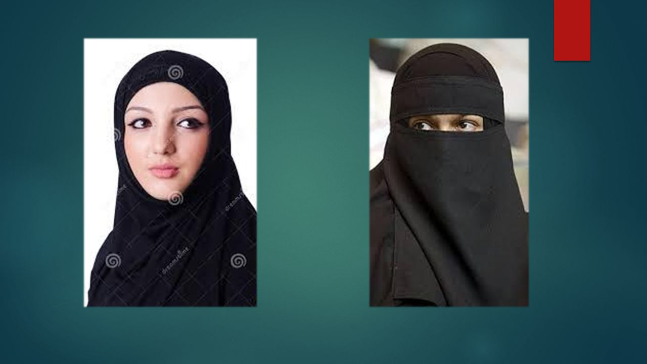 Adam Hijab and Niqab (depends on what countries the women are wearing them in) What are your thoughts on these pictures