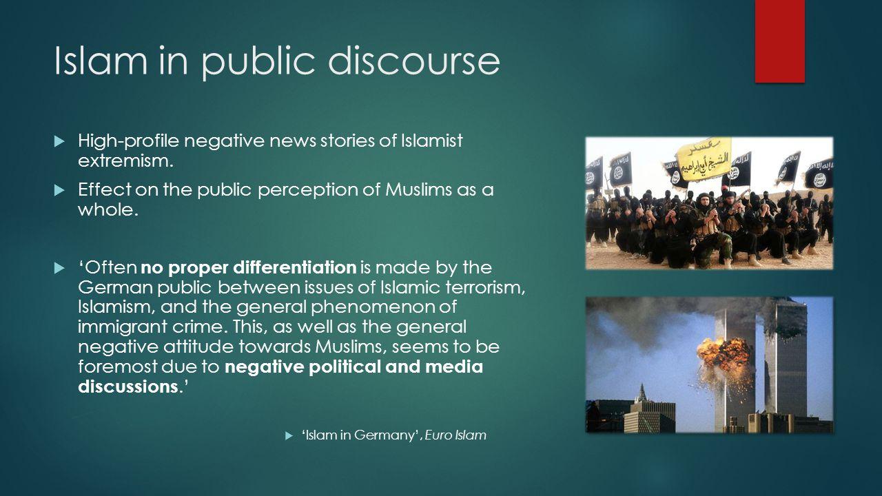 Islam in public discourse