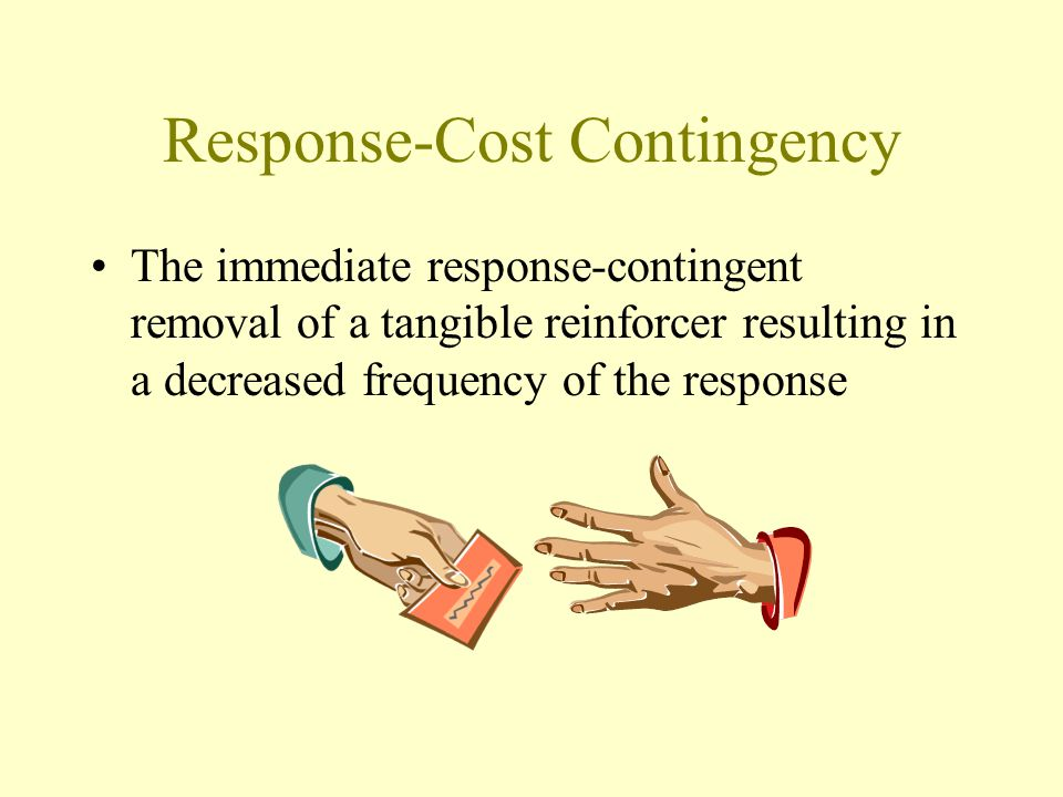 Response-Cost Contingency