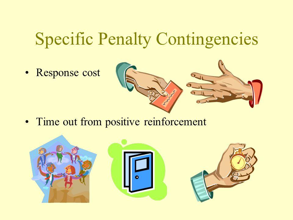 Specific Penalty Contingencies