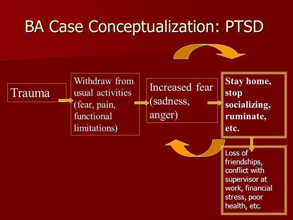 BA Case Conceptualization: PTSD