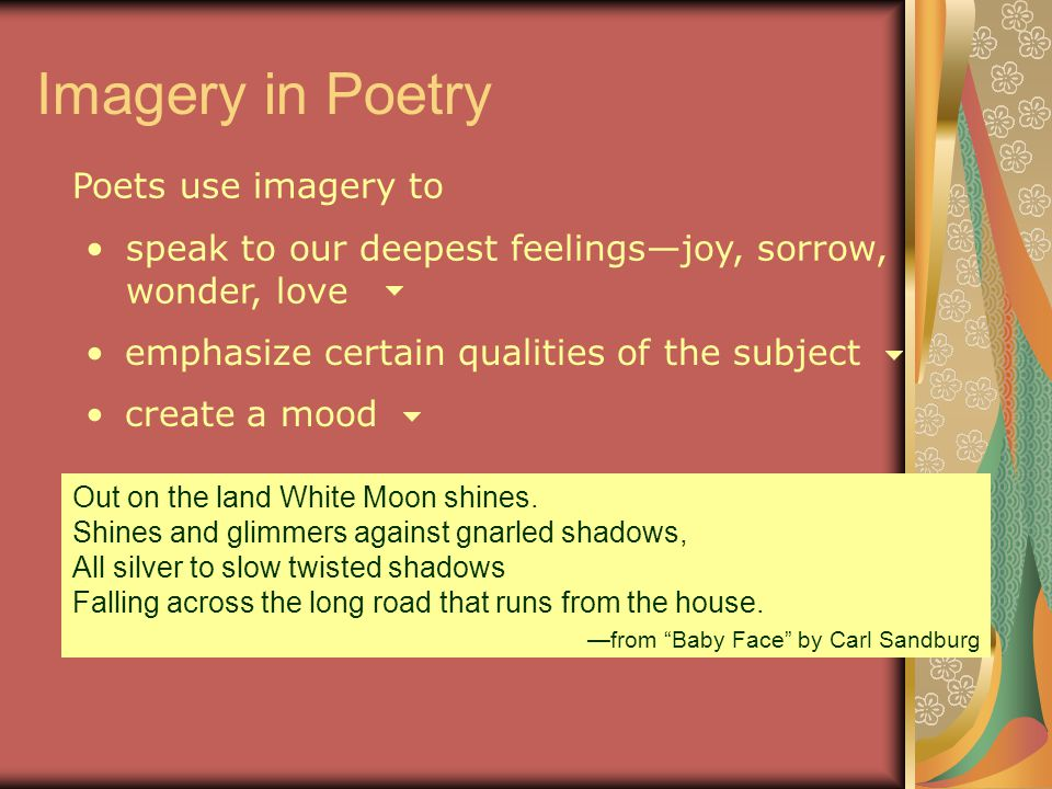 Poetry 6th Grade Mrs. Tatum. - ppt video online download