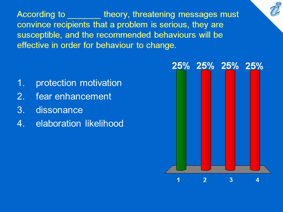 protection motivation fear enhancement dissonance