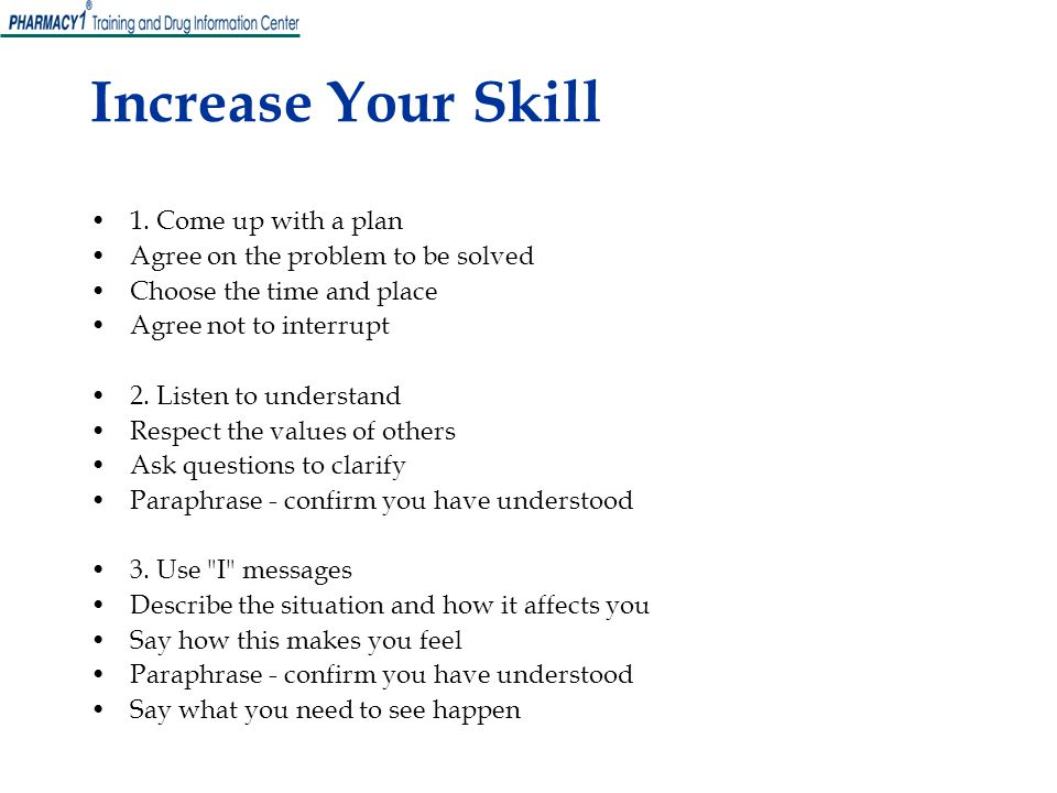 Increase Your Skill 1. Come up with a plan