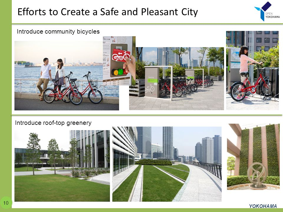 Efforts to Create a Safe and Pleasant City