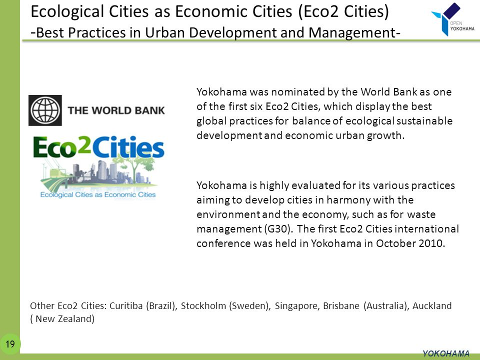Ecological Cities as Economic Cities (Eco2 Cities)