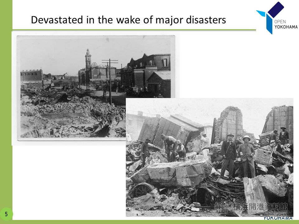 Devastated in the wake of major disasters