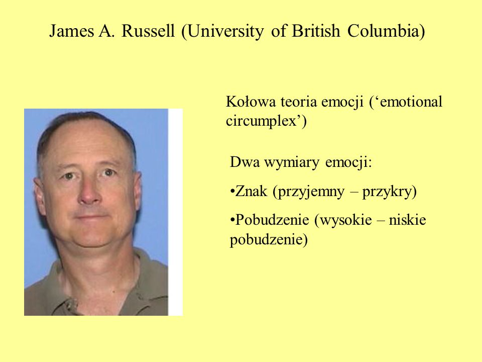 James A. Russell (University of British Columbia)