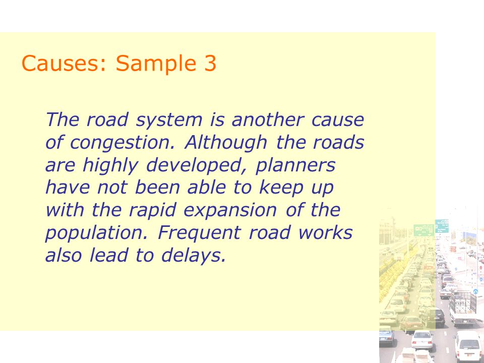 Causes: Sample 3