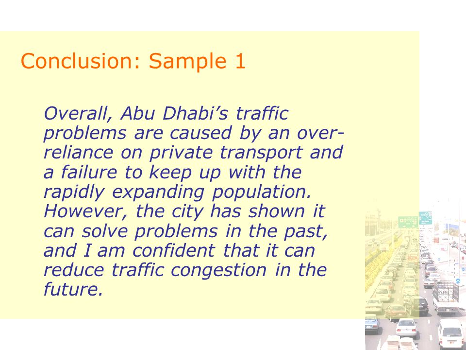 traffic problems essay You have not saved any essays every major city in america shares at least one common problem: traffic congestion year after year, while waiting in city traffic, billions of gallons of.