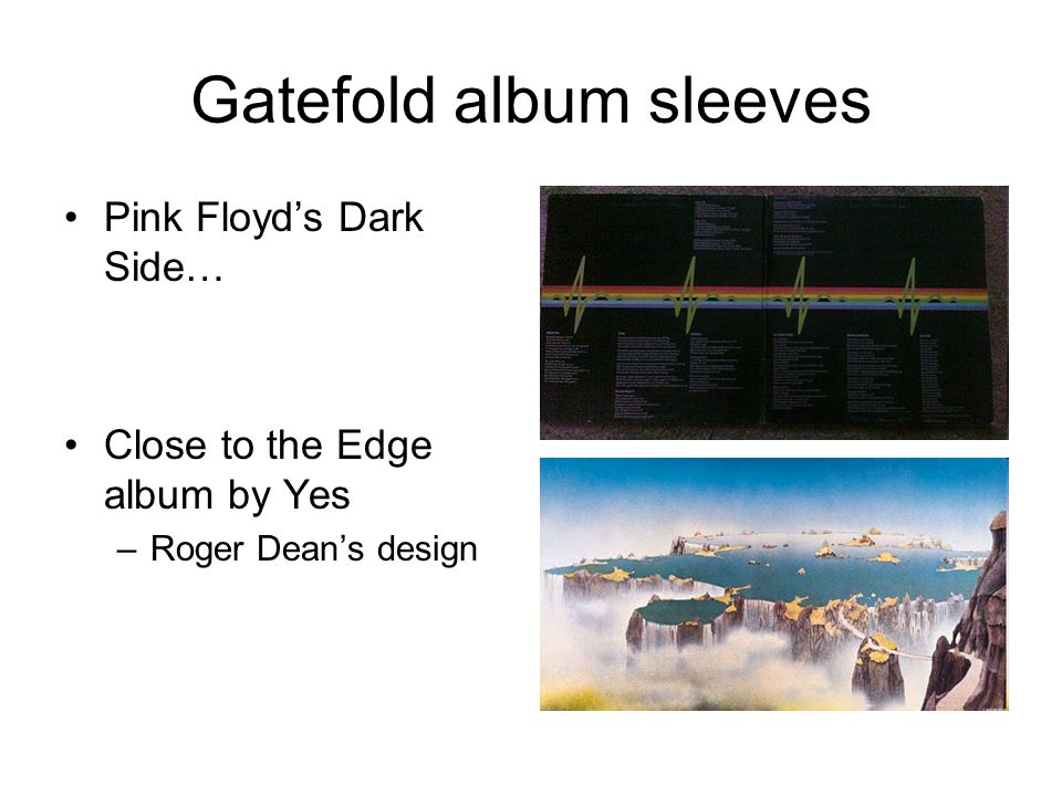 Gatefold album sleeves