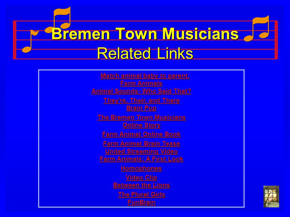 Bremen Town Musicians Related Links
