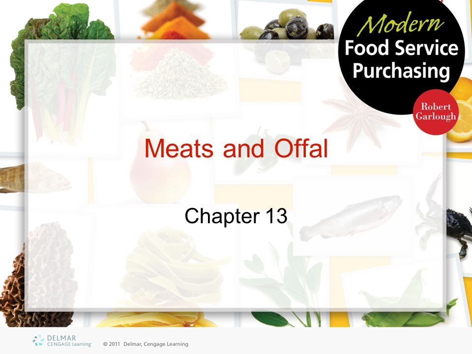 Meats and Offal Chapter 13