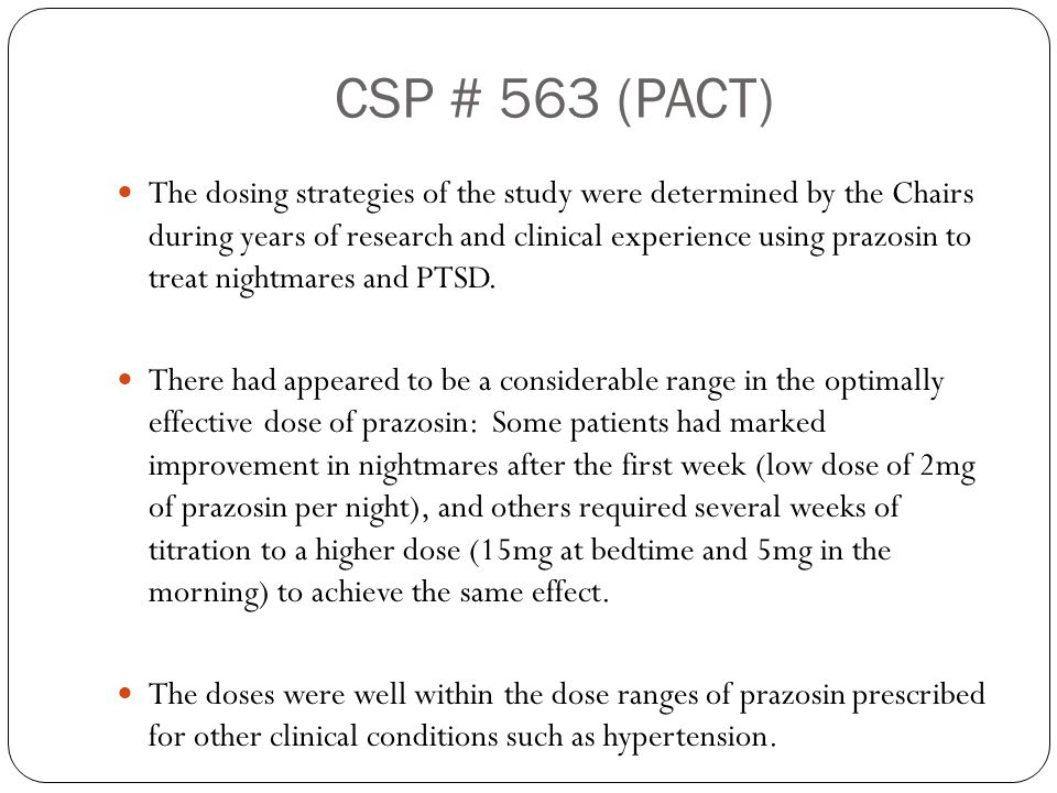 CSP # 563 (PACT)