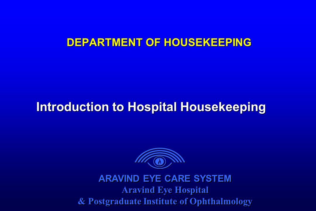 DEPARTMENT OF HOUSEKEEPING