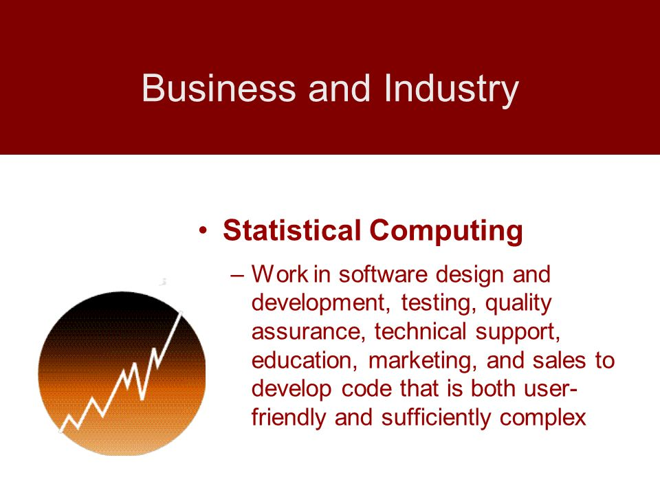 Business and Industry Statistical Computing