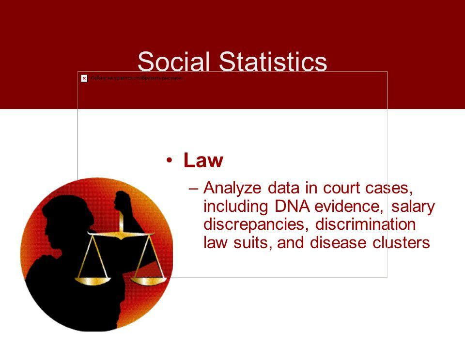 Social StatisticsLaw.