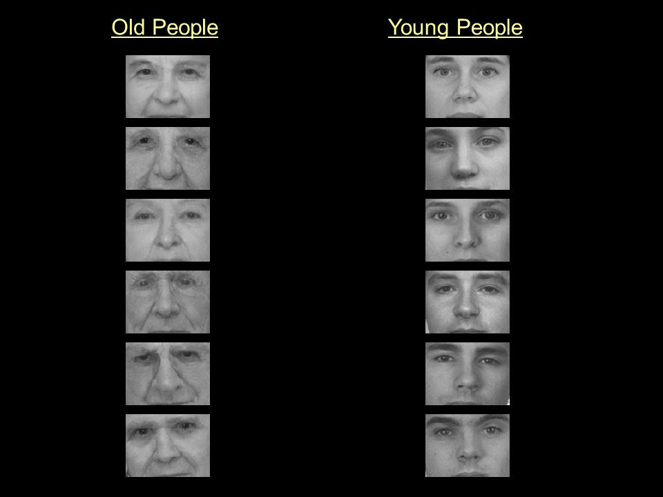 Old People Young People