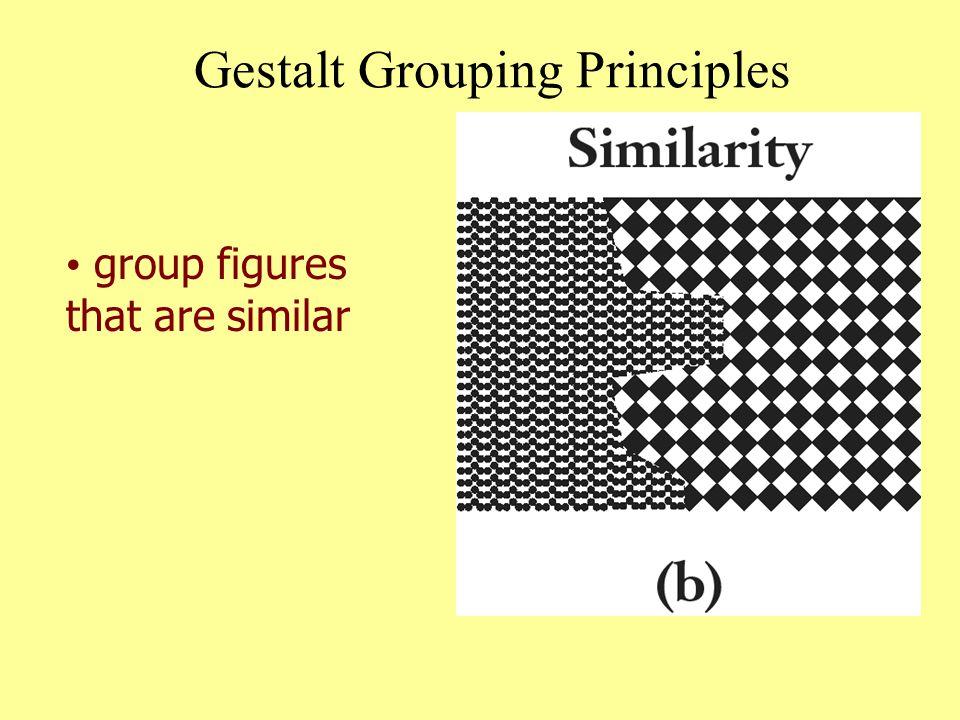Gestalt Grouping Principles