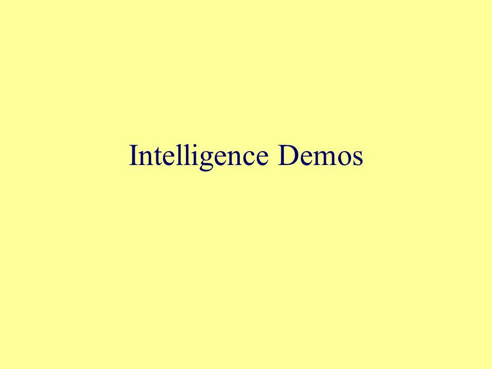 Intelligence Demos