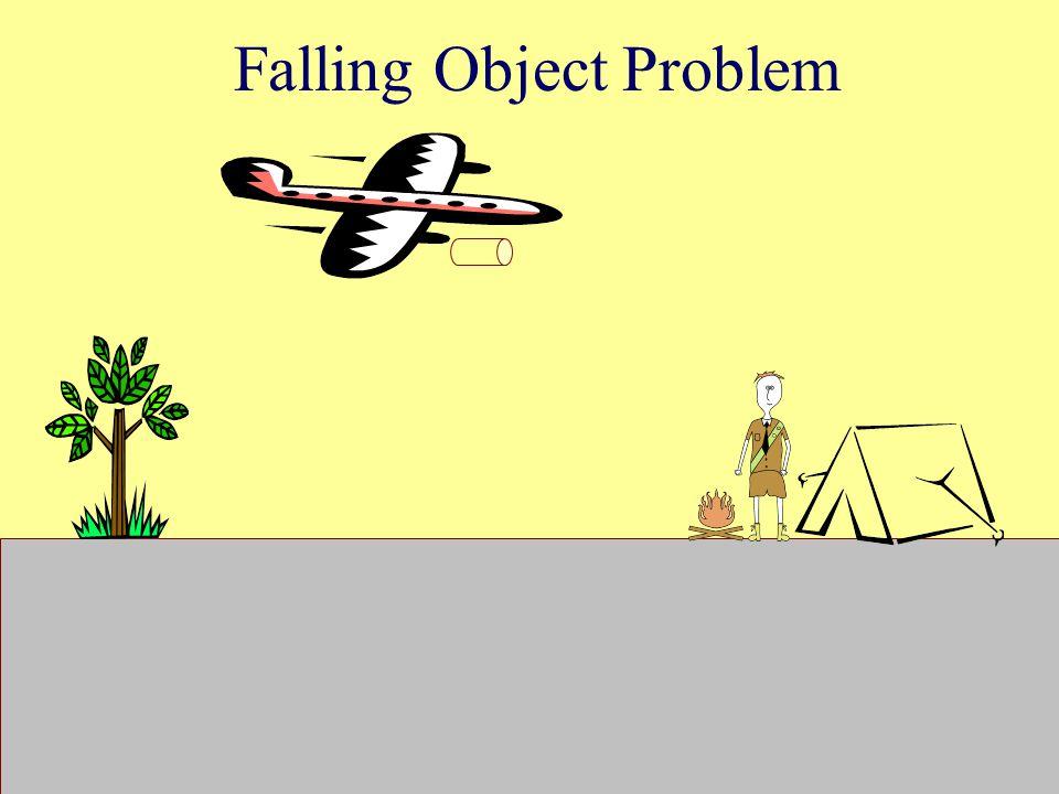 Falling Object Problem