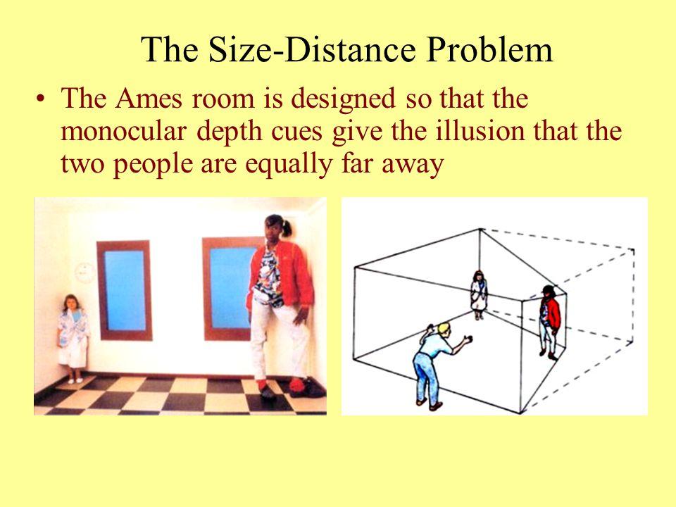 The Size-Distance Problem