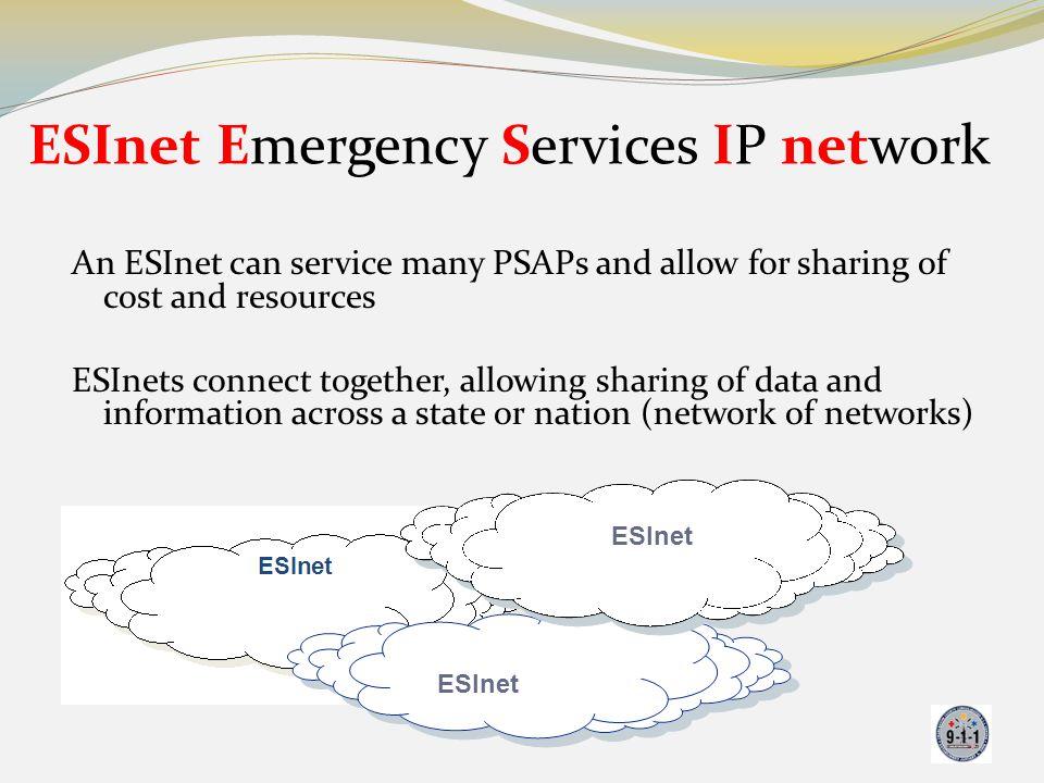 ESInet Emergency Services IP network