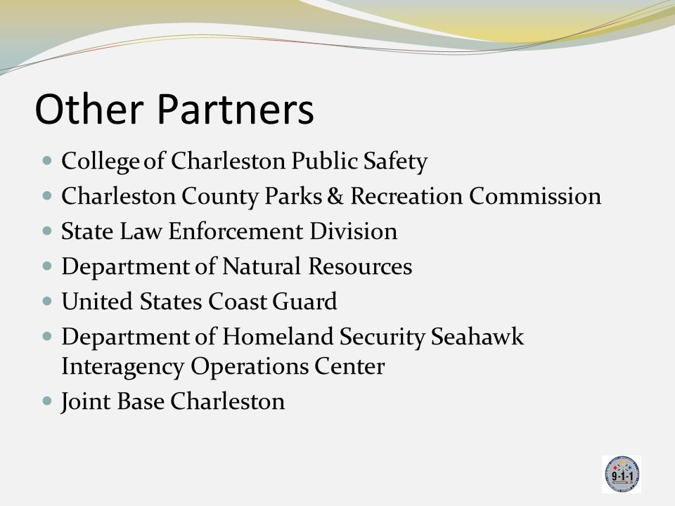 Other Partners College of Charleston Public Safety