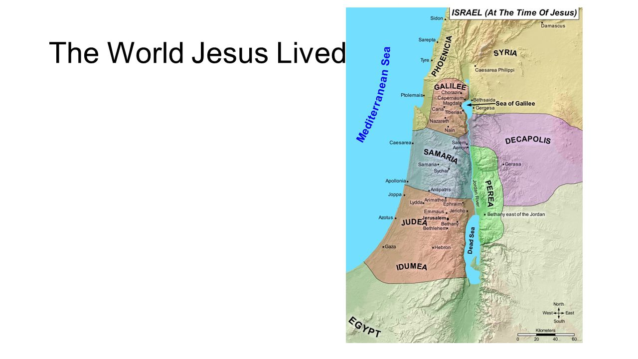 The World Jesus Lived In