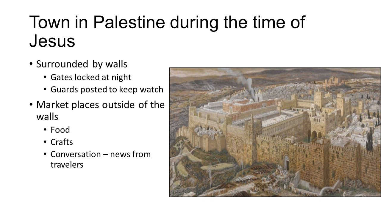 Town in Palestine during the time of Jesus