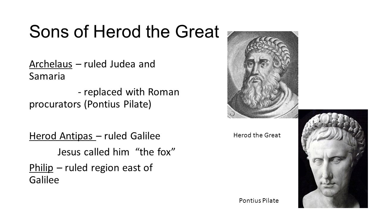 Sons of Herod the Great