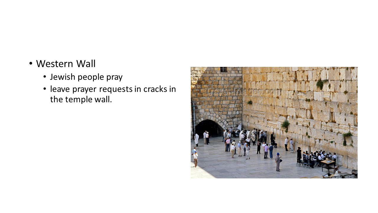 Western Wall Jewish people pray
