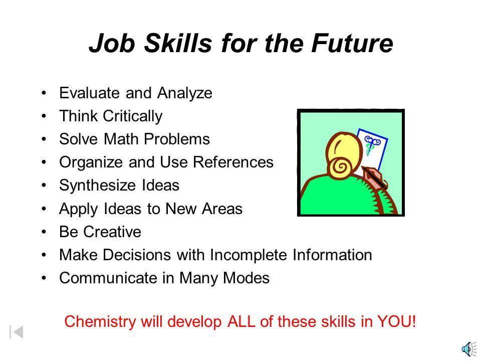 Job Skills for the Future